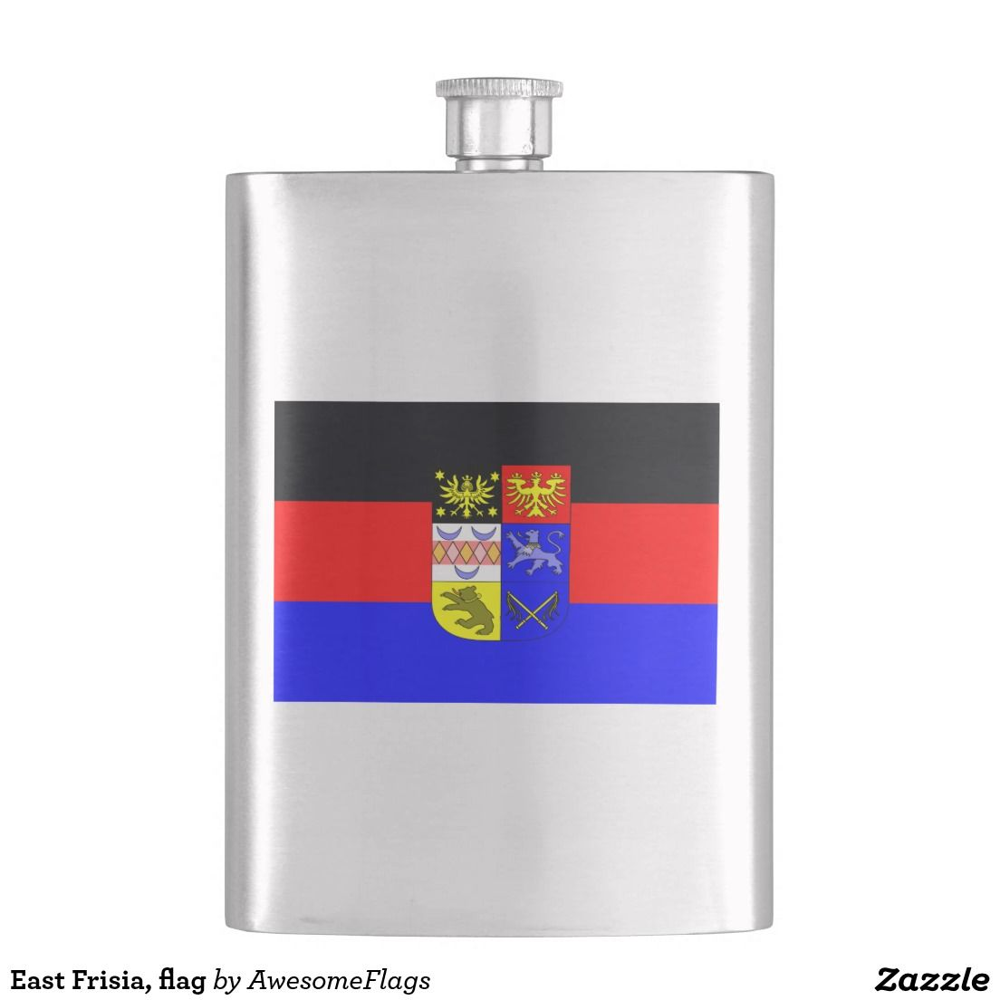 East Frisia, flag Flasks