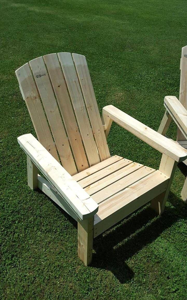 Recycelte Paletten Adirondack Stühle #recyceltepaletten Recycelte Paletten Adirondack Stühle - Palette Adirondack Stühle #recyceltepaletten