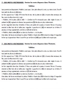 EXERCICES D'ENTRAINEMENT A LA LECTURE | Lecture, Exercice ...