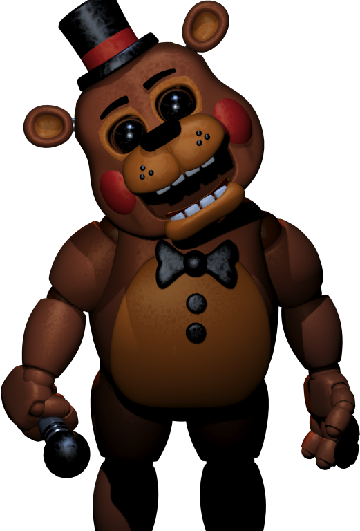 A Picture Of Toy Freddy