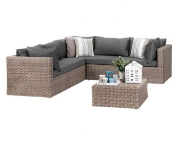 Salon Lounge Roma 15 Pcs Malin Shopper Outdoor Furniture Sets Outdoor Sectional Sofa Outdoor Lounge