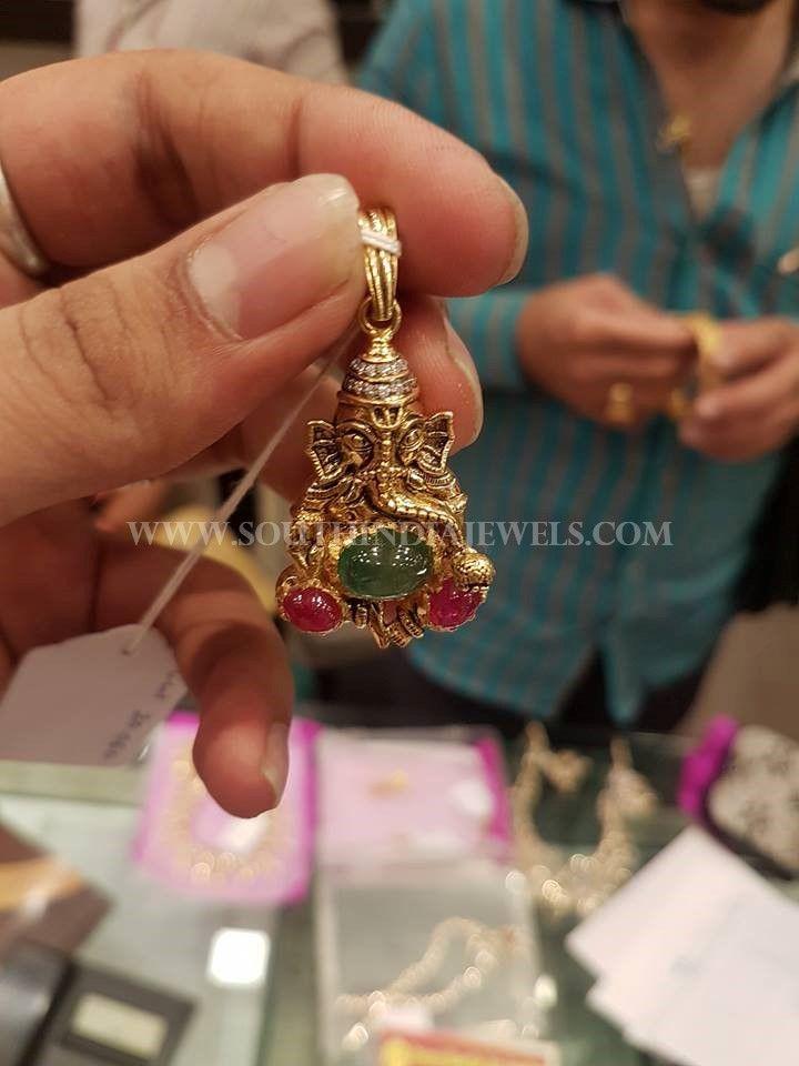 10 Gram Gold Pendant Design Pendant Design Ganesh Pendant Gold Pendant