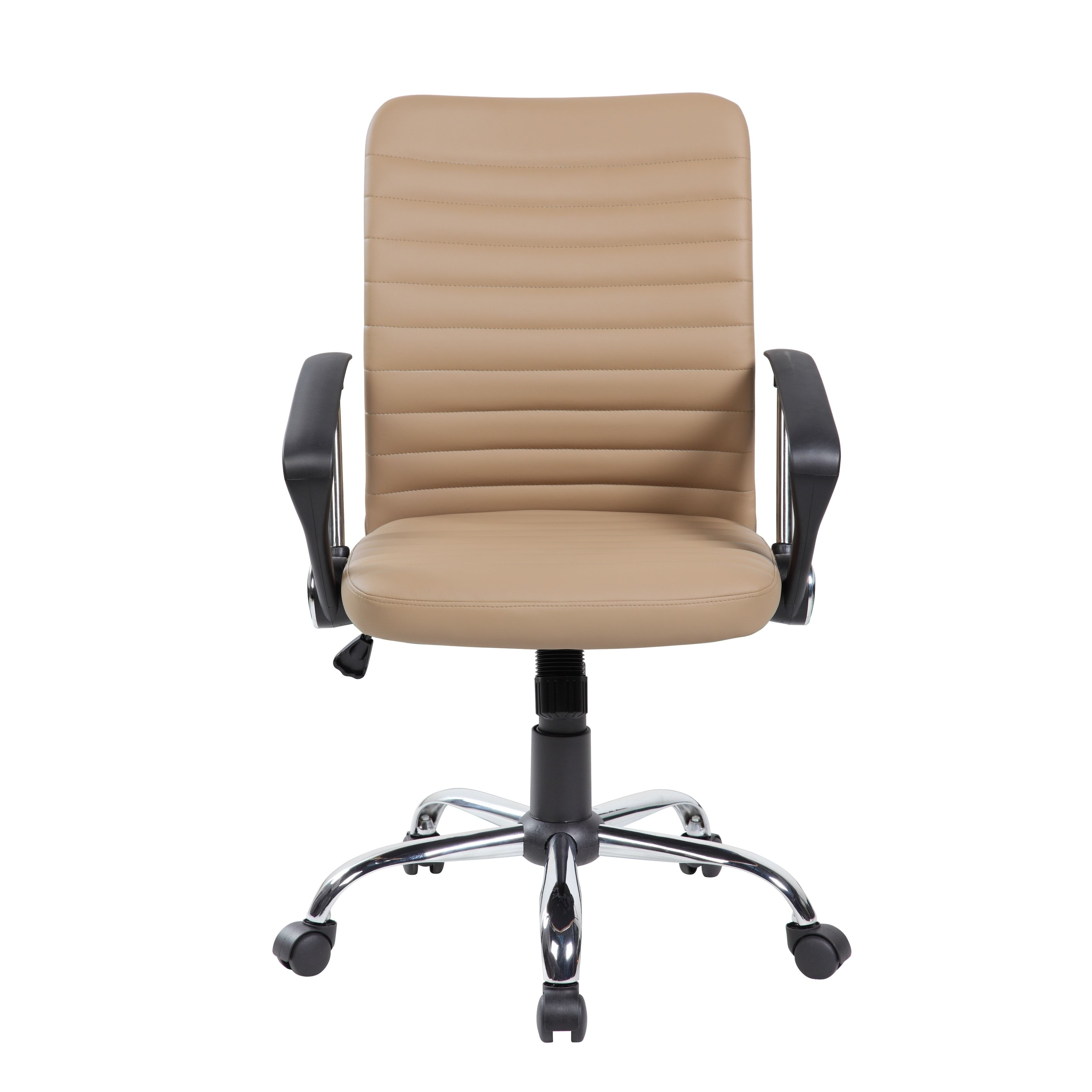 United economic modern pu leather home office desk chair beige