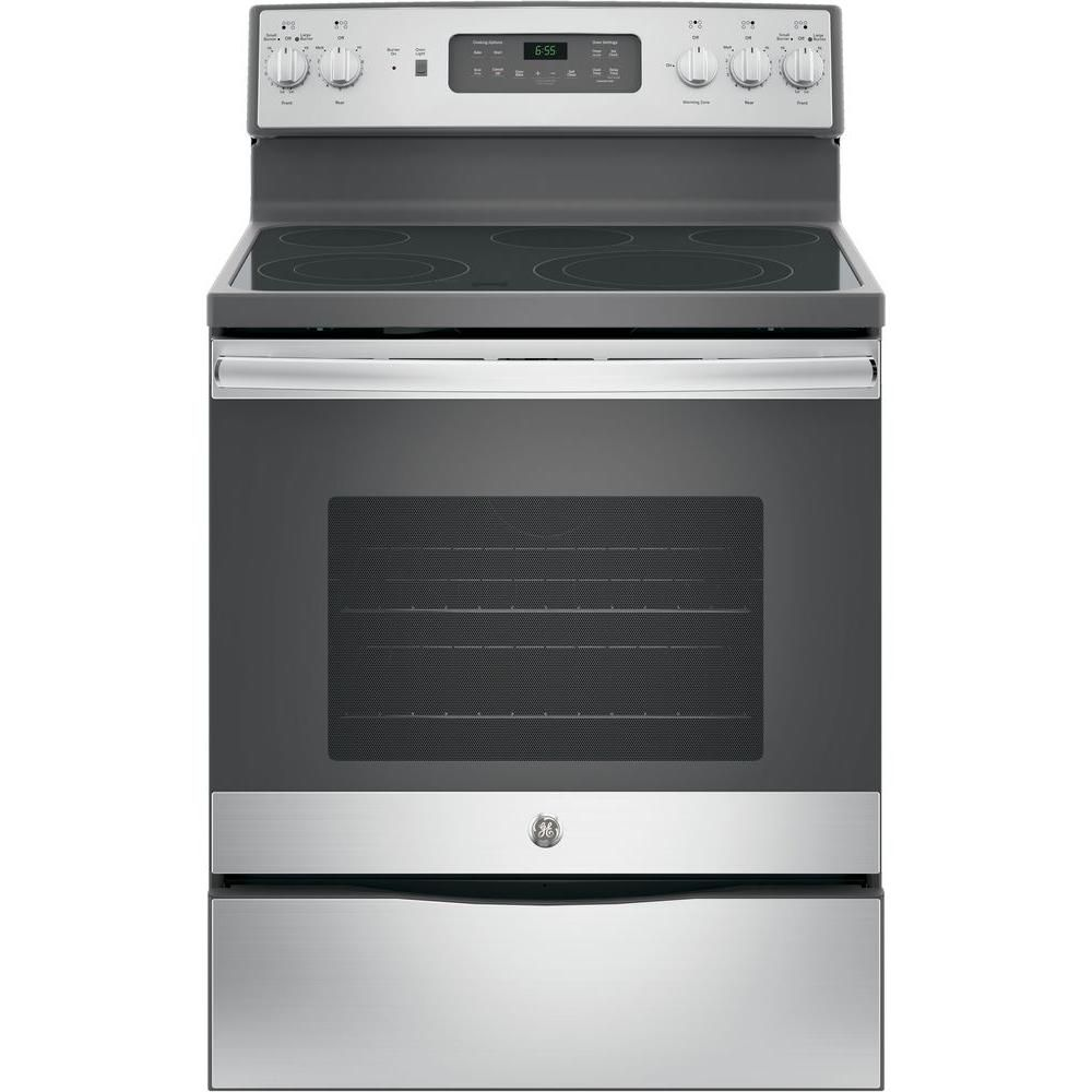 30 in 5 3 cu ft electric range with self cleaning convection oven rh pinterest com
