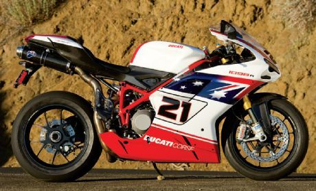 Ducati 1098R Bayliss Rep