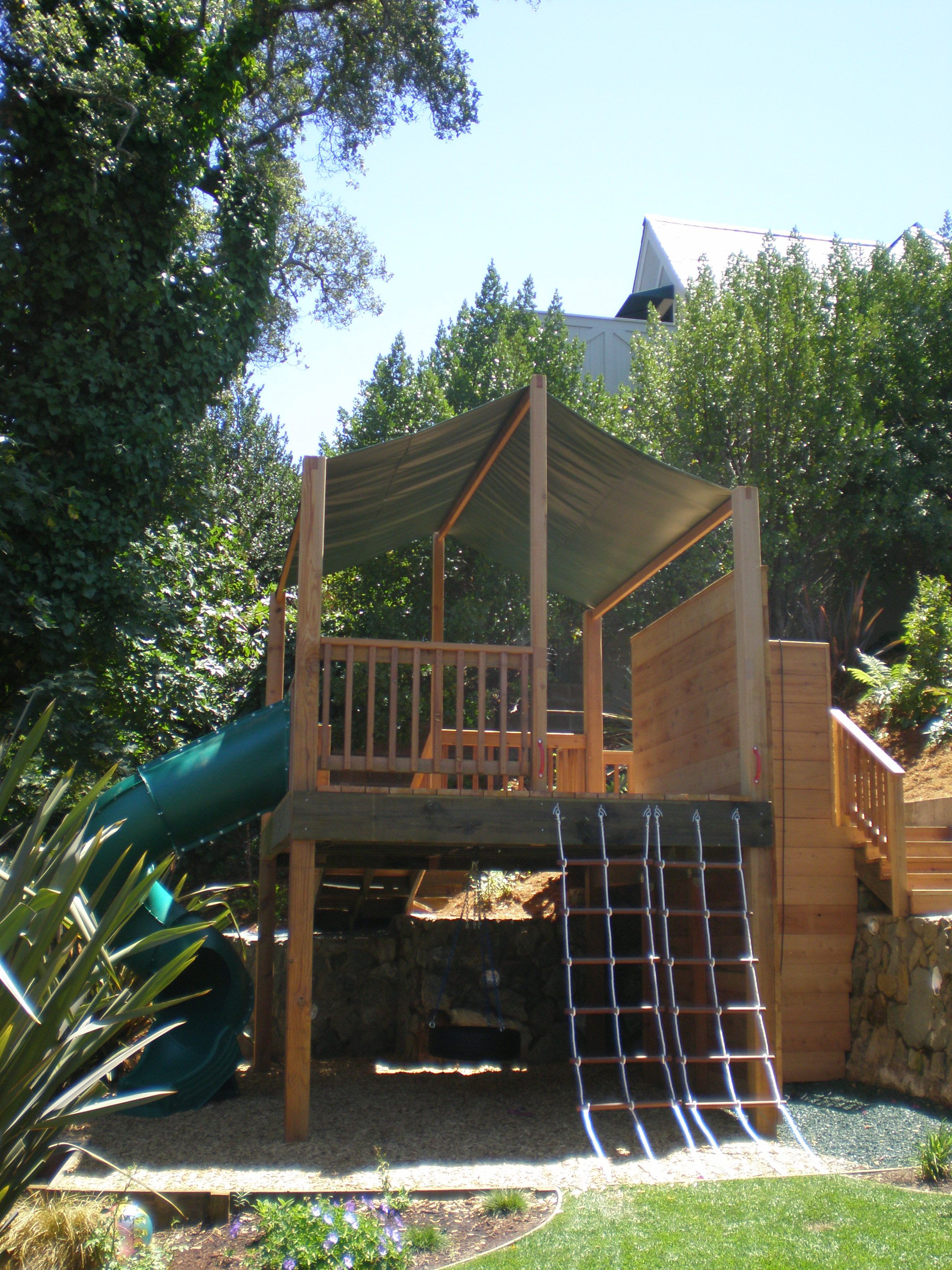 Two Level Custom Play Structure