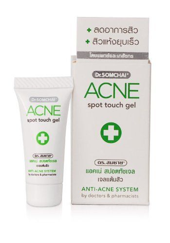 5x Dr. Somchai Acne Spot Touch Gel Treatment « Beauty Shopping Pro Beauty Shopping Pro