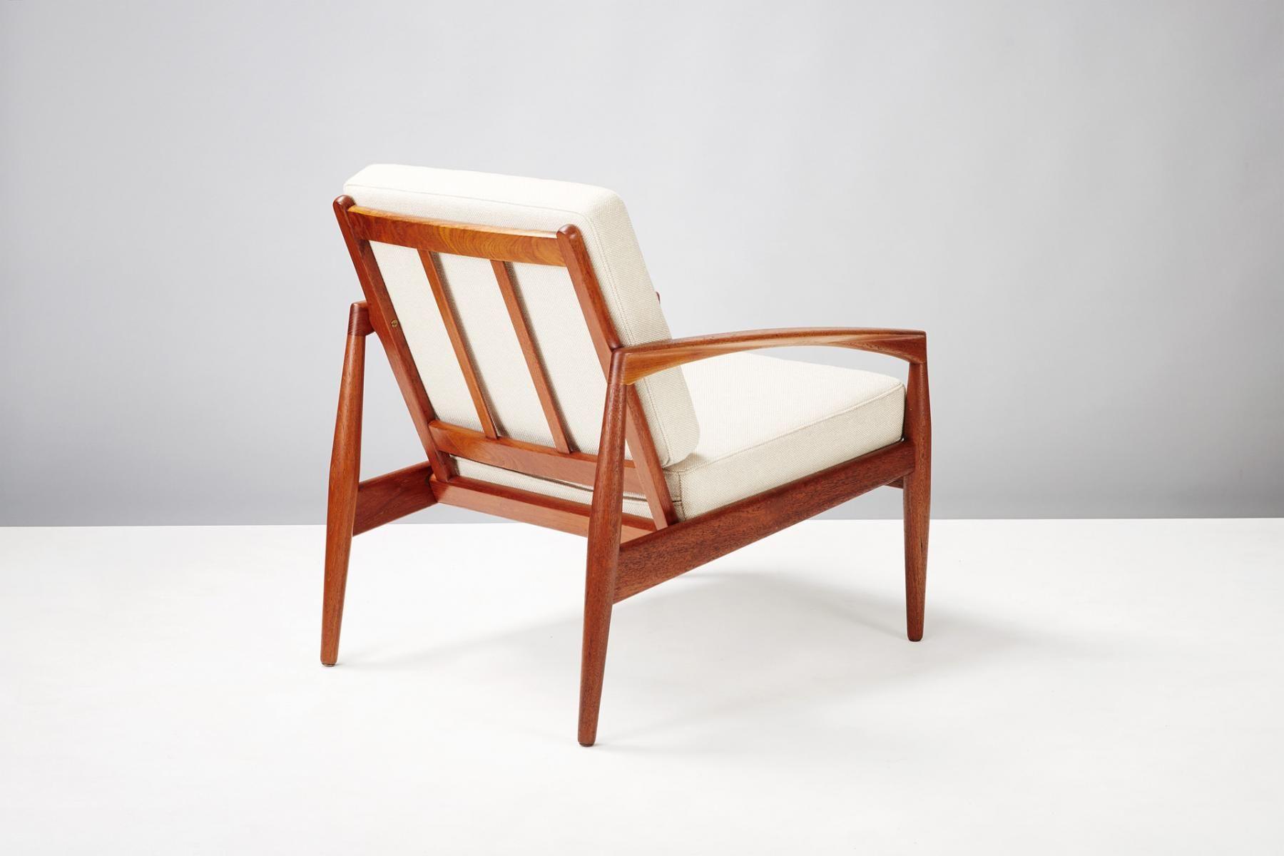 teak paper knife chair by kai kristiansen for magnus olesen 1955 4 rh pinterest com