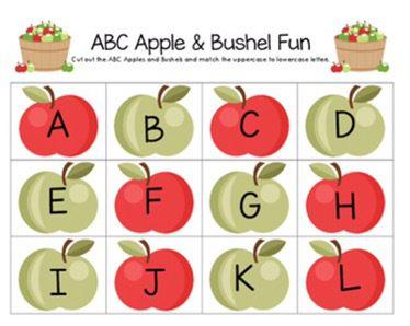 Apple & Pumpkin Printables | Little Learning Lane