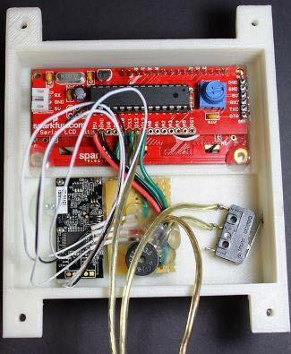 Diy Garage Door Opener With Fingerprint Scanner Microcontroller