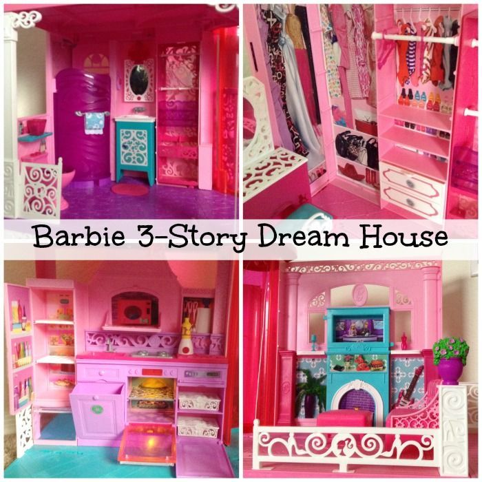 barbie 3 story dream dollhouse awesome gift giving ideas rh pinterest es