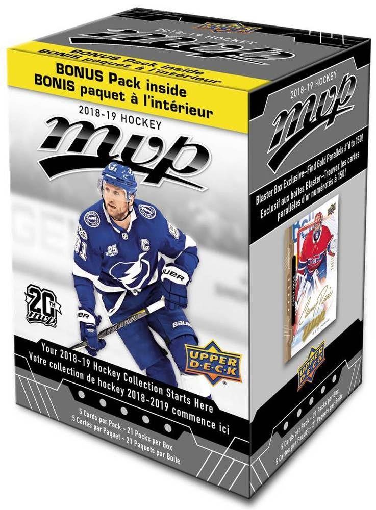2018 19 Upper Deck Mvp Nhl Hockey Trading Cards 20 1 Bonus Pack Blaster Box Fs Upperdeck Deck Upper Deck Nhl