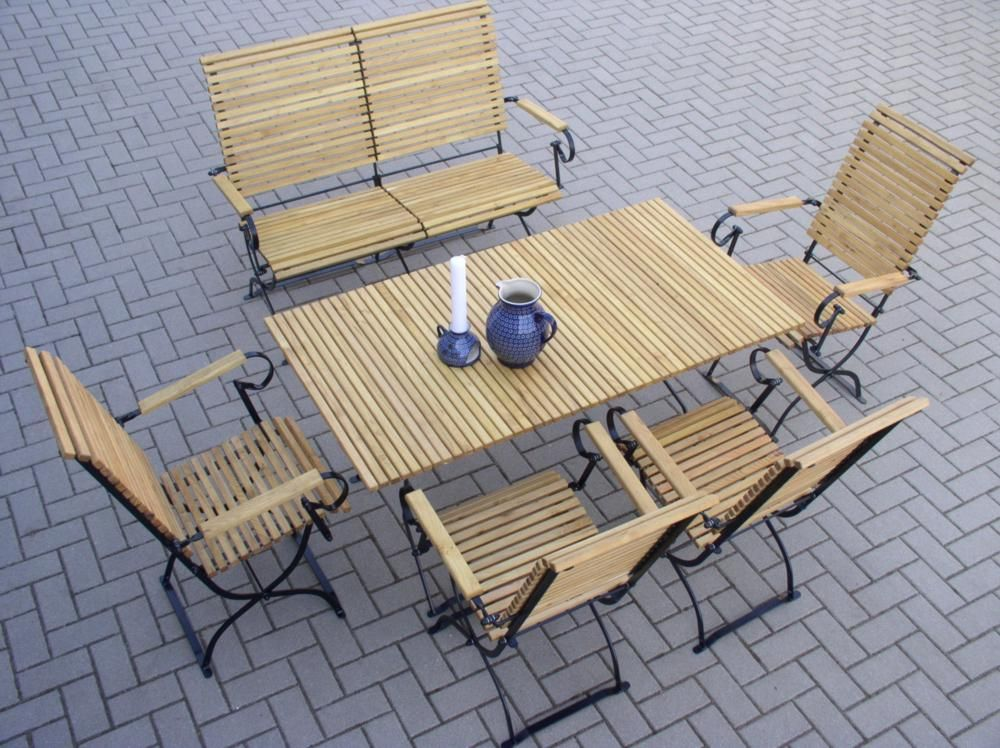 Gartenmöbel Set Holz Klappbar ~ Billig gartenmöbel set holz klappbar deutsche deko