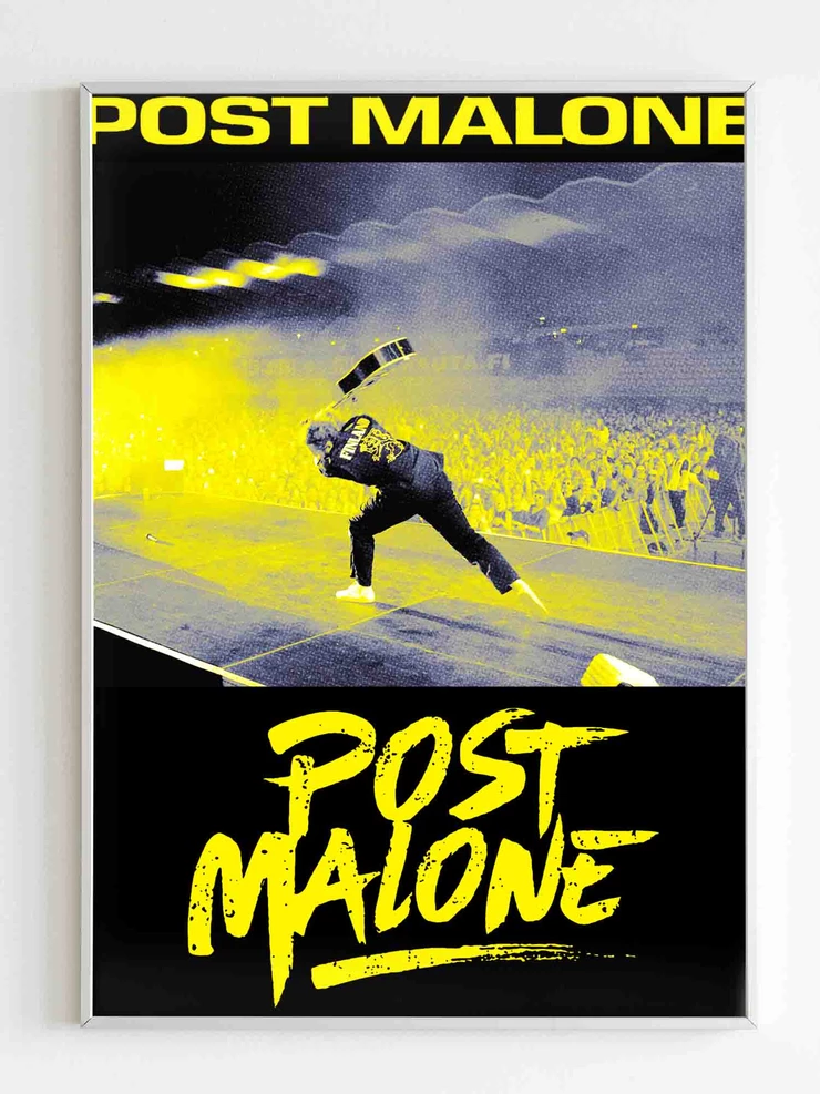 Post Malone Concert Poster