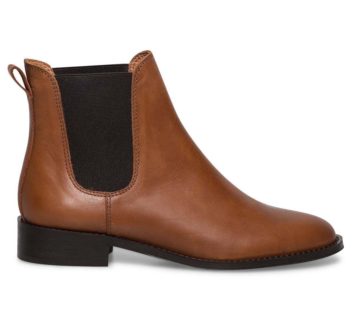 chelsea boots camel - Boots / bottines - Femme