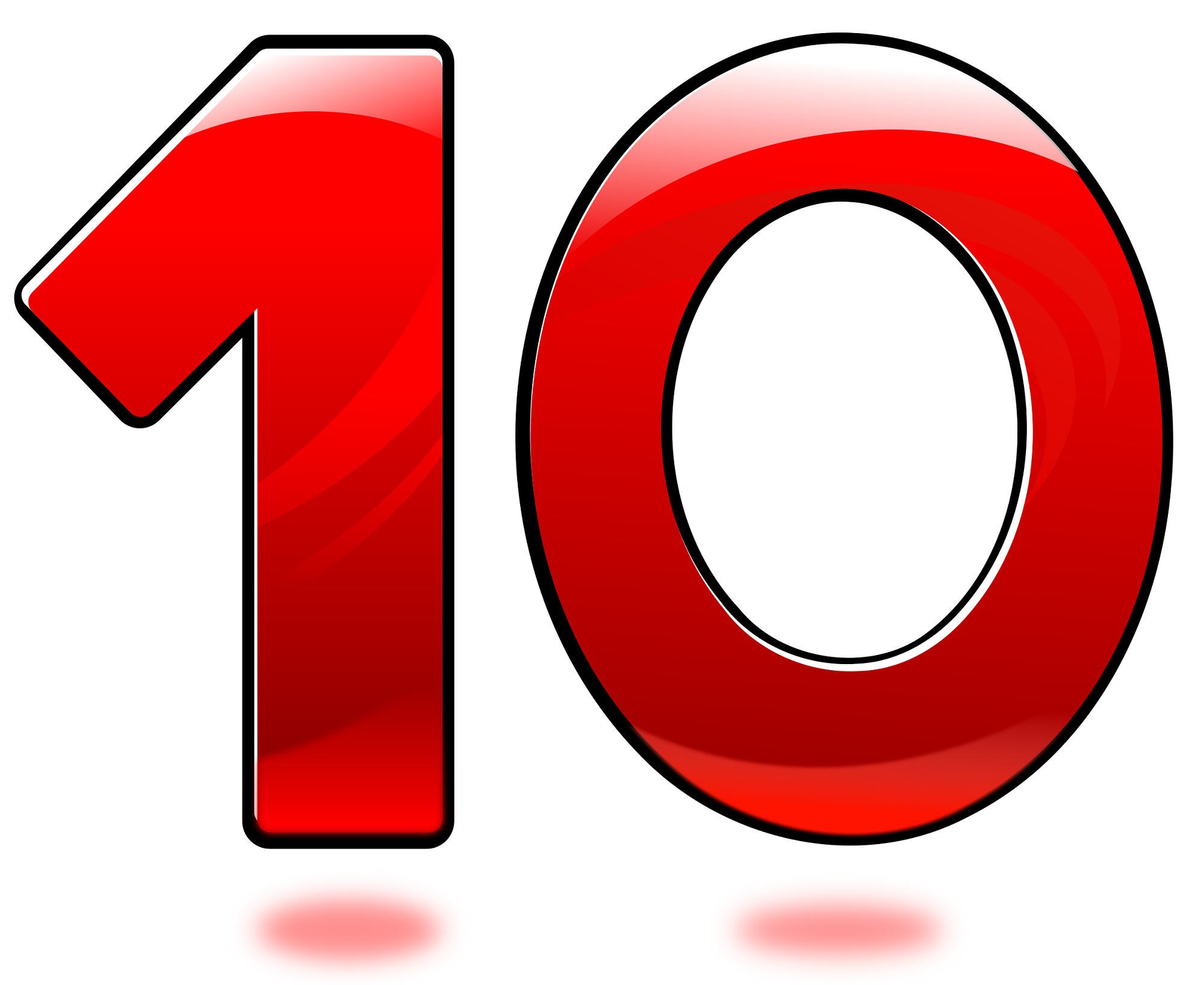 Picture Of Number 10 For Children 10 Things How To Memorize Things Numbers Preschool