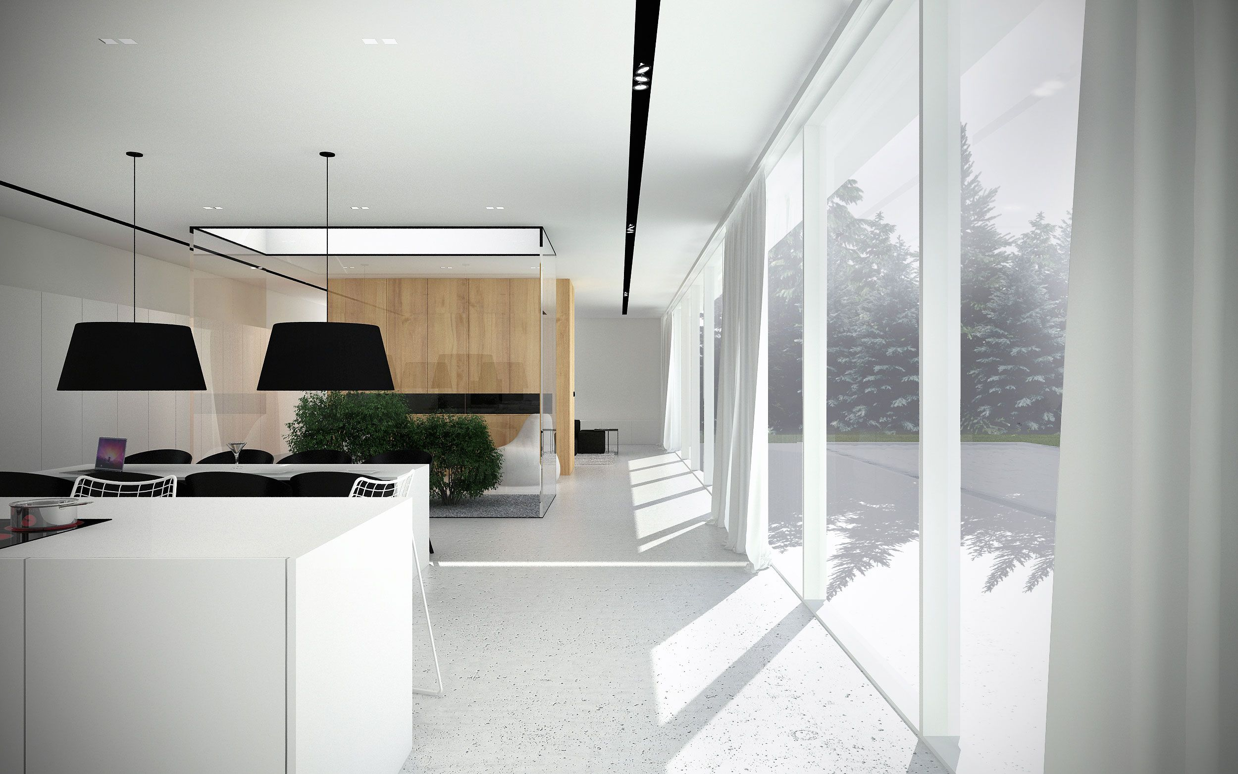 EHouse Minimalist House by Minimal Architects 7