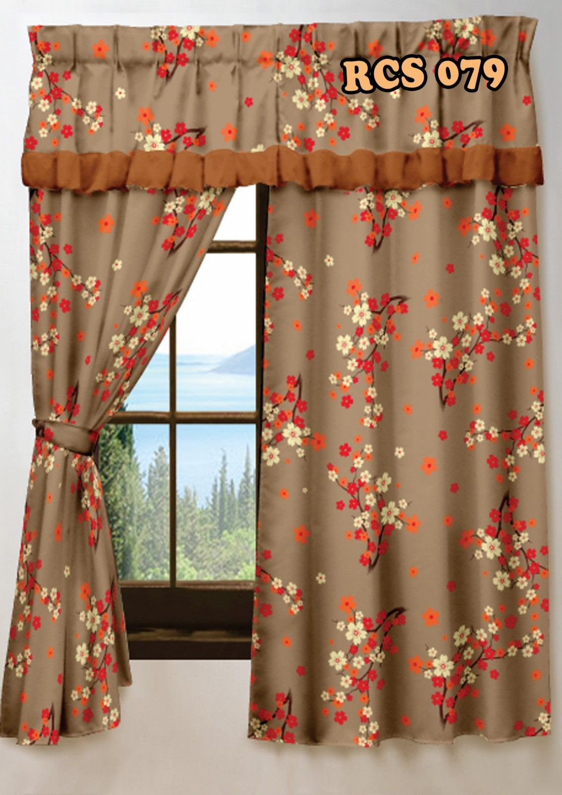 Azza Izzura Enterprise Langsir Tingkap Pilihan Ramai Harga Murah Diy Fashion Home Decor Langsir living room concept