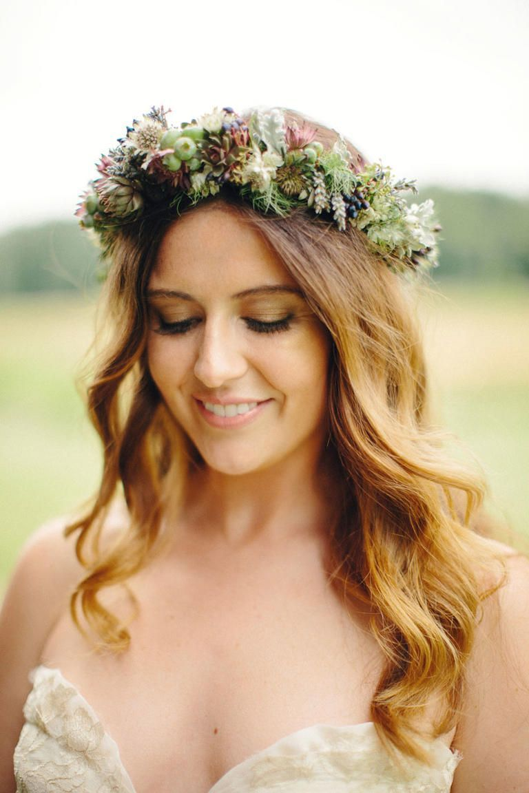 Flower crown wedding hairstyles for brides and flower girls photo flower crown wedding hairstyles for brides and flower girls photo by nicole haley photography theknot fotografias de flores pinterest flower izmirmasajfo