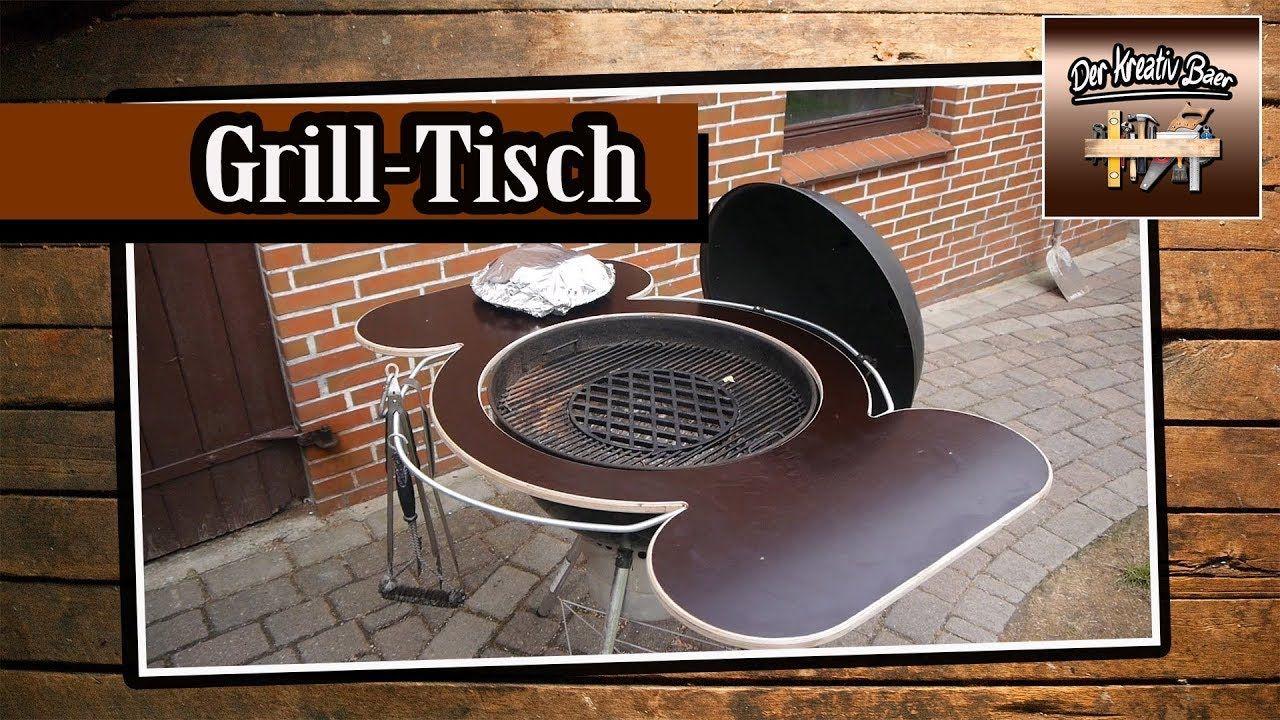 grillen | grill tisch| barbecue table| selbst gebaut| selber bauen