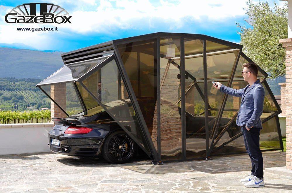 幫你的愛車打造一個「伸縮四角庫」 Enclosed carport, Carport garage