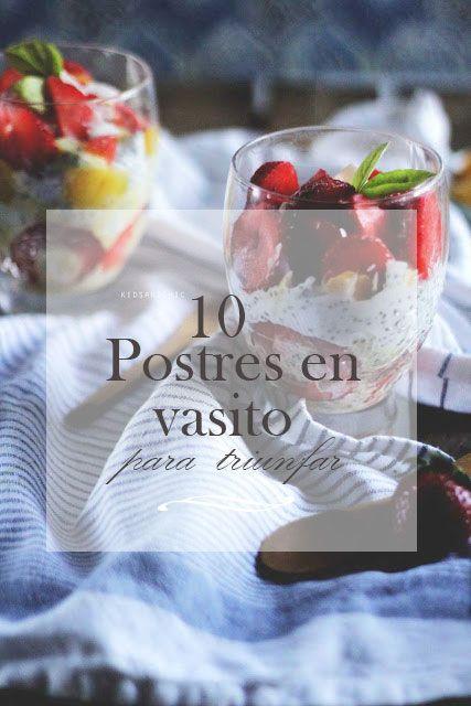 10 postres en vasitos fáciles que no puedes dejar de hacer