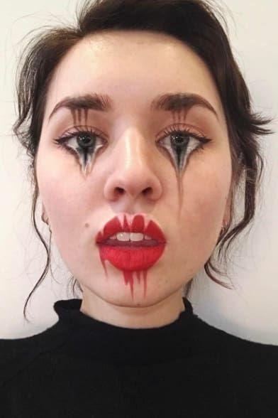Diese Künstlerin schafft irre optische Illusionen, indem sie Make-up benutzt