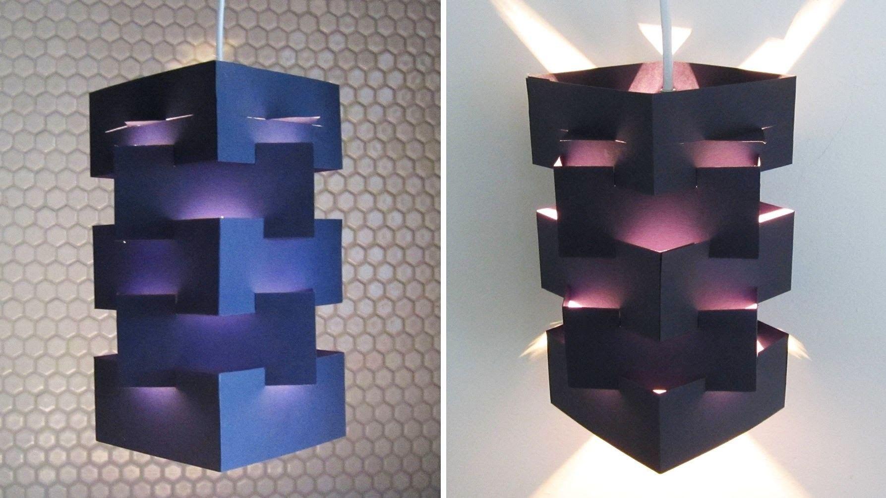 DIY lamp for pendant light learn