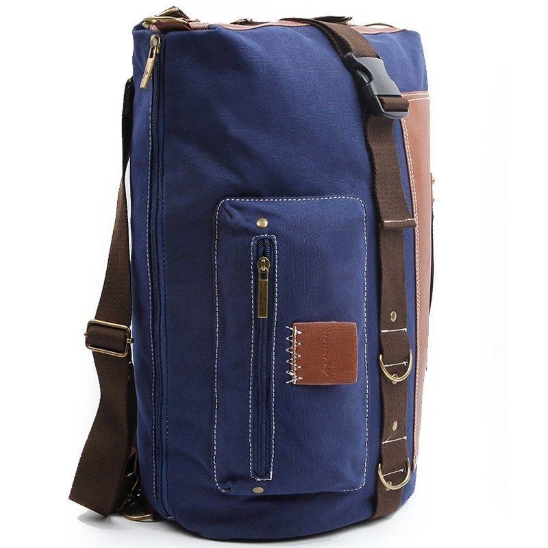 Best Gym Backpack Mens Canvas Backpacks Tote Bags for Men Vintage School Bag 304 #ADRENA #Backpack