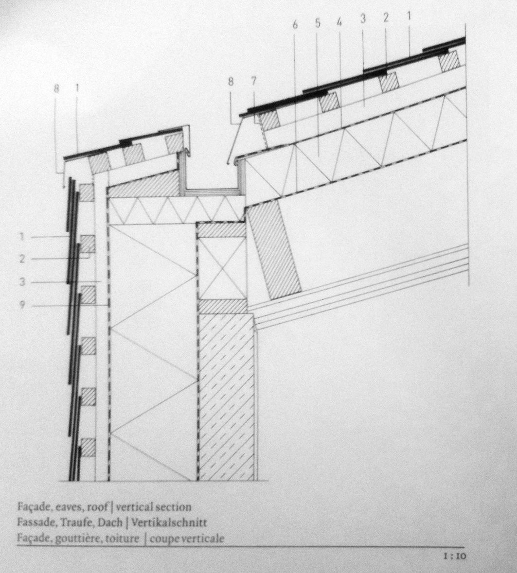 Hidden Gutter Detail Architecture Details Arquitectura Tree Rings Diagram Buildllcveneersdiagram01