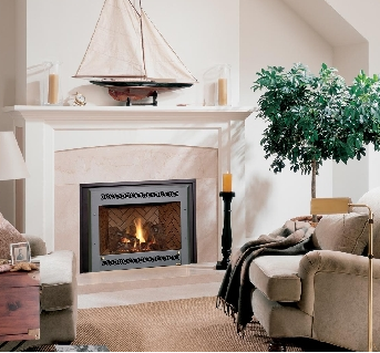 many gas fireplaces and inserts offer multiple face options in a rh pinterest com
