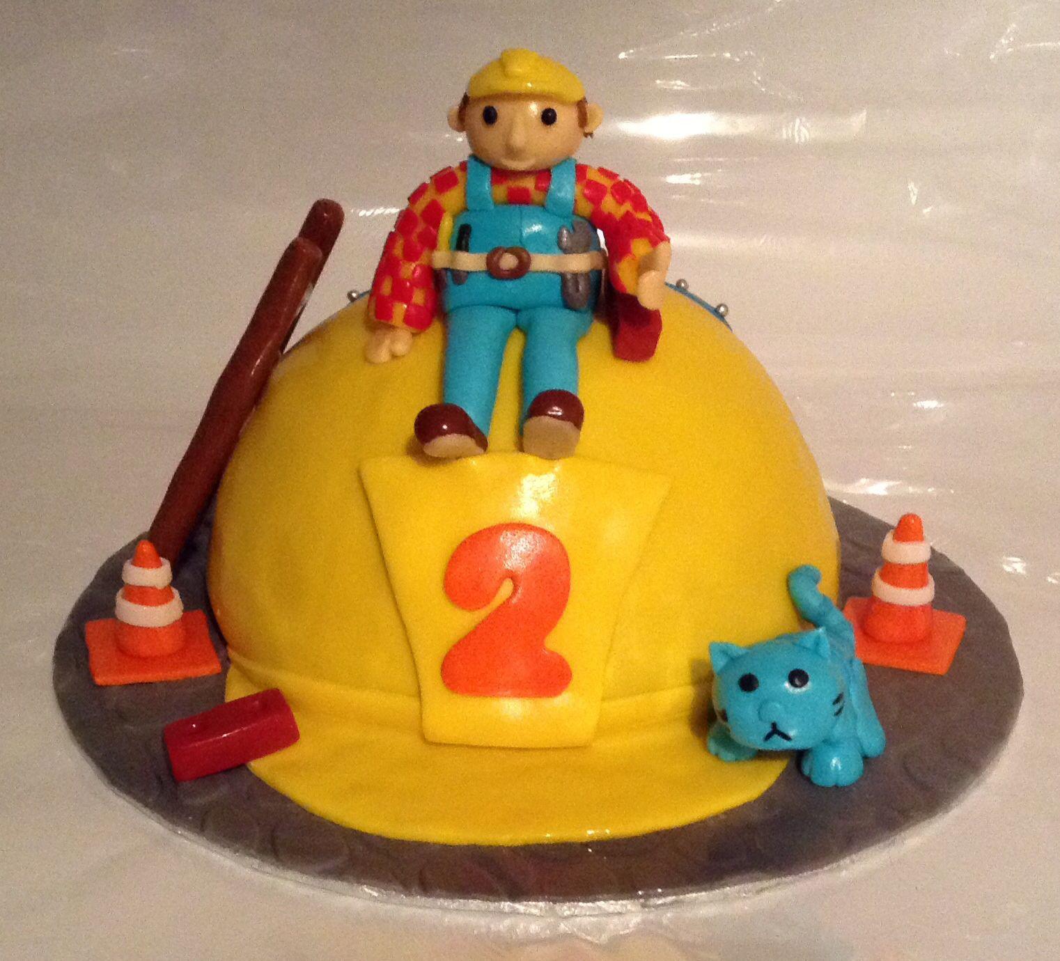 bob the builder cake pan instructions