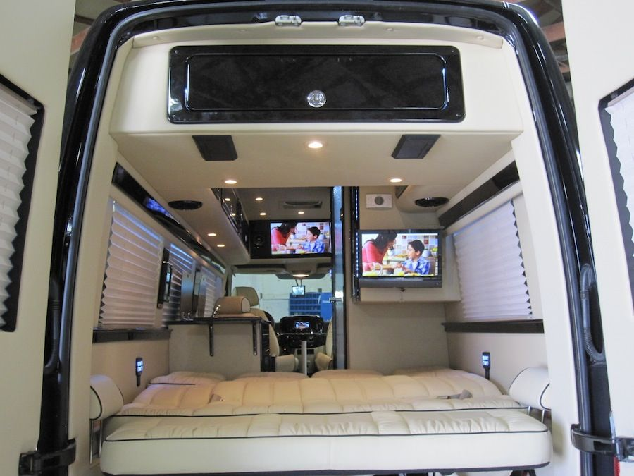 Sprinter based custom built class b from midwest for Mercedes benz sprinter conversion van for sale