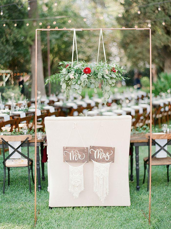 wedding locations north california%0A Modern Ranch Chic Northern California Wedding   Northern california   Sweetheart table and California wedding