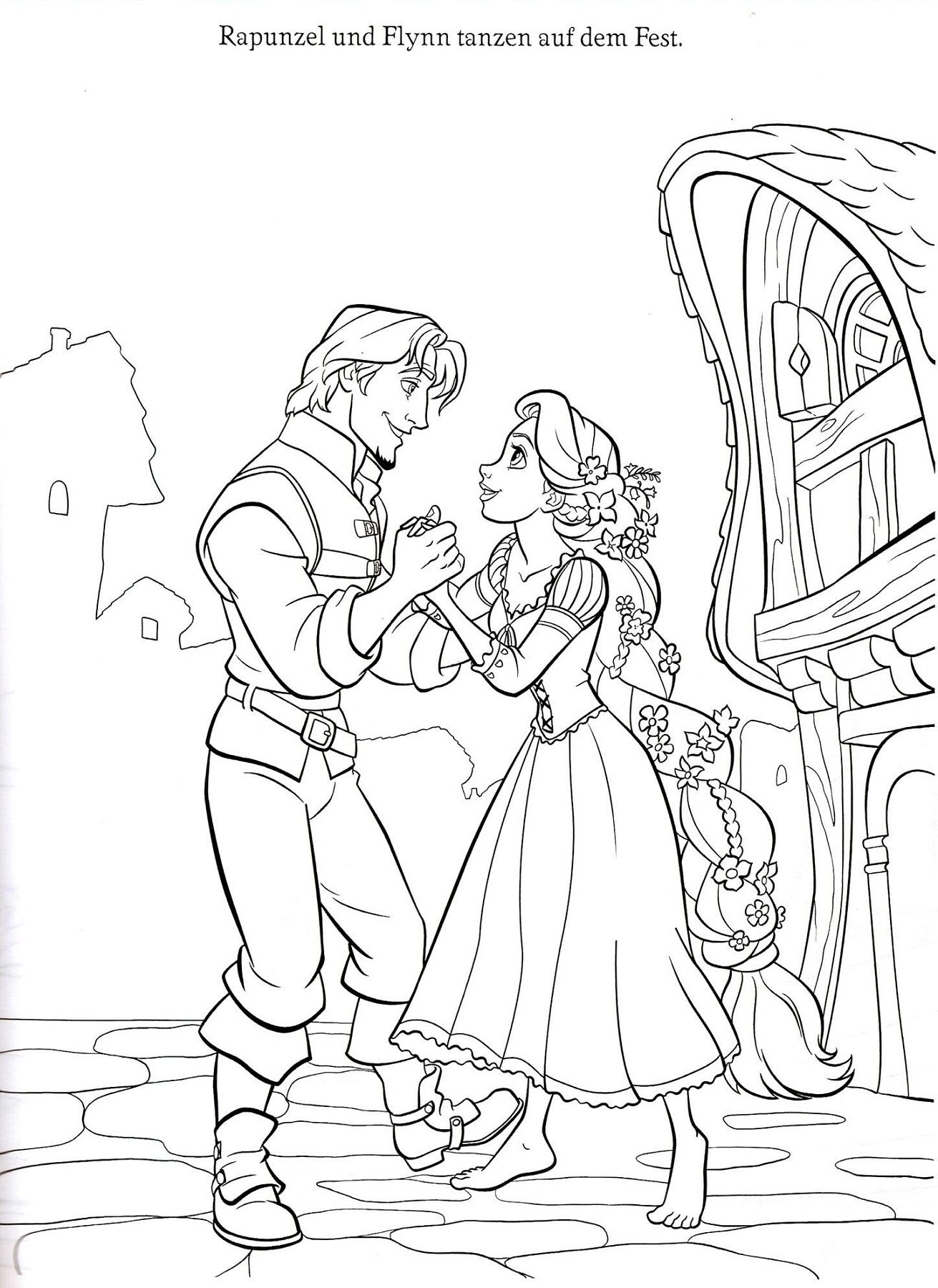 Rapunzel Color Pages To Print Rapunzel Coloring Pages Disney Princess Coloring Pages Tangled Coloring Pages