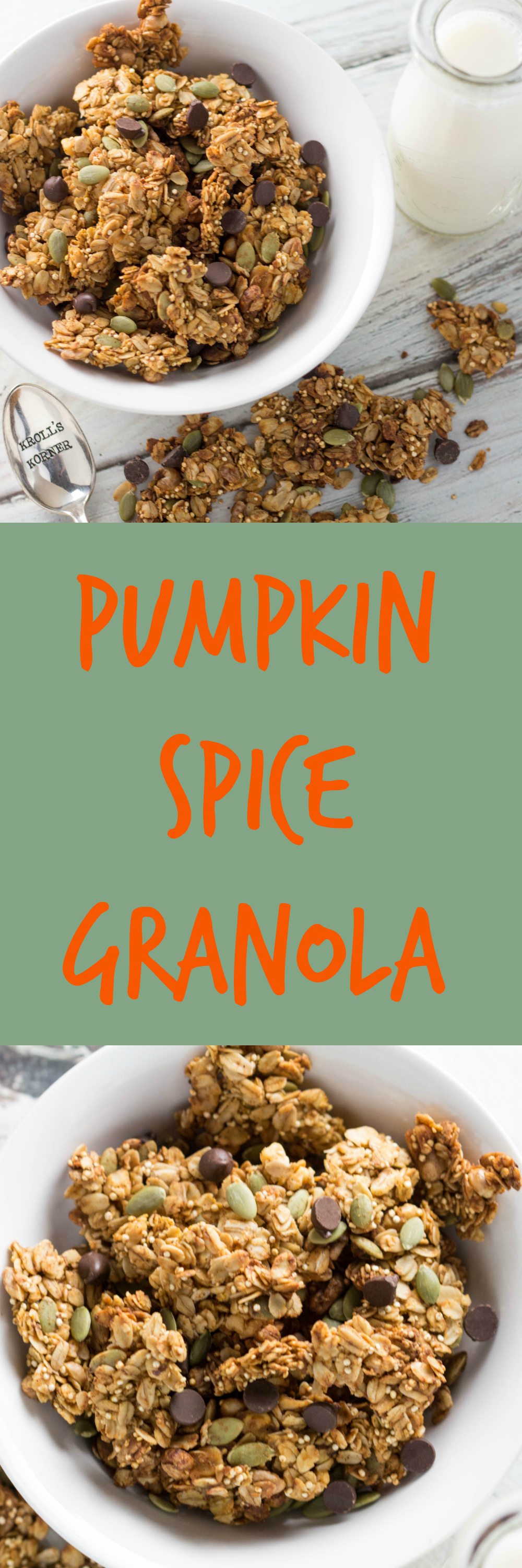 Pumpkin Spice Granola | Recipe | Seasons, Granola and It is