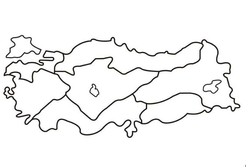29 Ekim Cumhuriyet Bayramı Türkiye Haritası Kalıbı Patterns