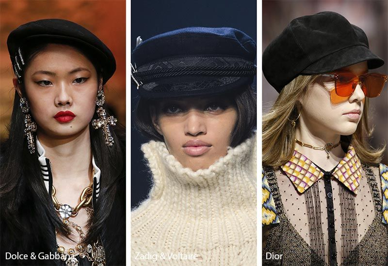 Fall  Winter 2018-2019 Hat Trends  Newsboy and Sailor Caps 89bd2a8dadd