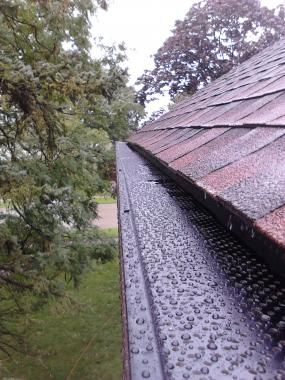 Check Out This Company If You Re In The Search Of Professional Gutter And Window Cleaners They Also Have P With Images Seamless Gutters Roof Installation Gutter