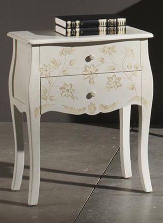 muebles de pino pintados a mano - Buscar con Google | mesa de noche ...