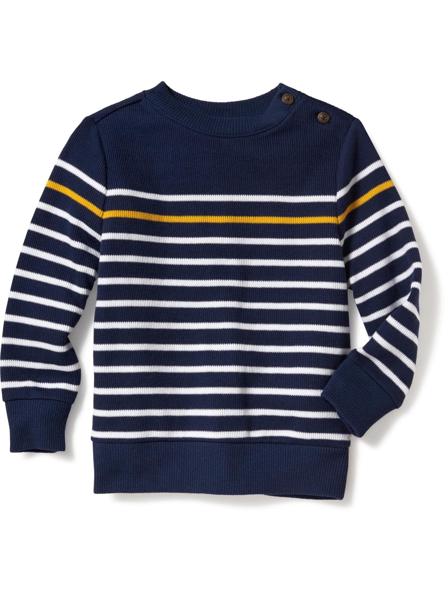 French Rib Crew Neck Sweater For Toddler Boys Old Navy Little