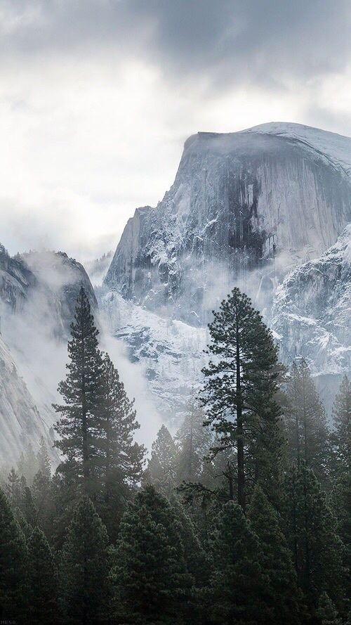 Misty Mountain Iphone 6 Wallpaper Backgrounds Yosemite Wallpaper Nature Wallpaper