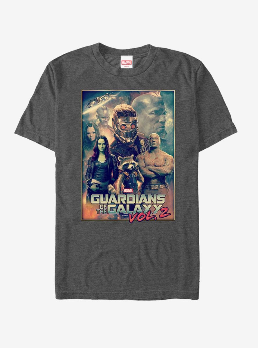 Marvel Guardians of the Galaxy Logo Graphic T-Shirt