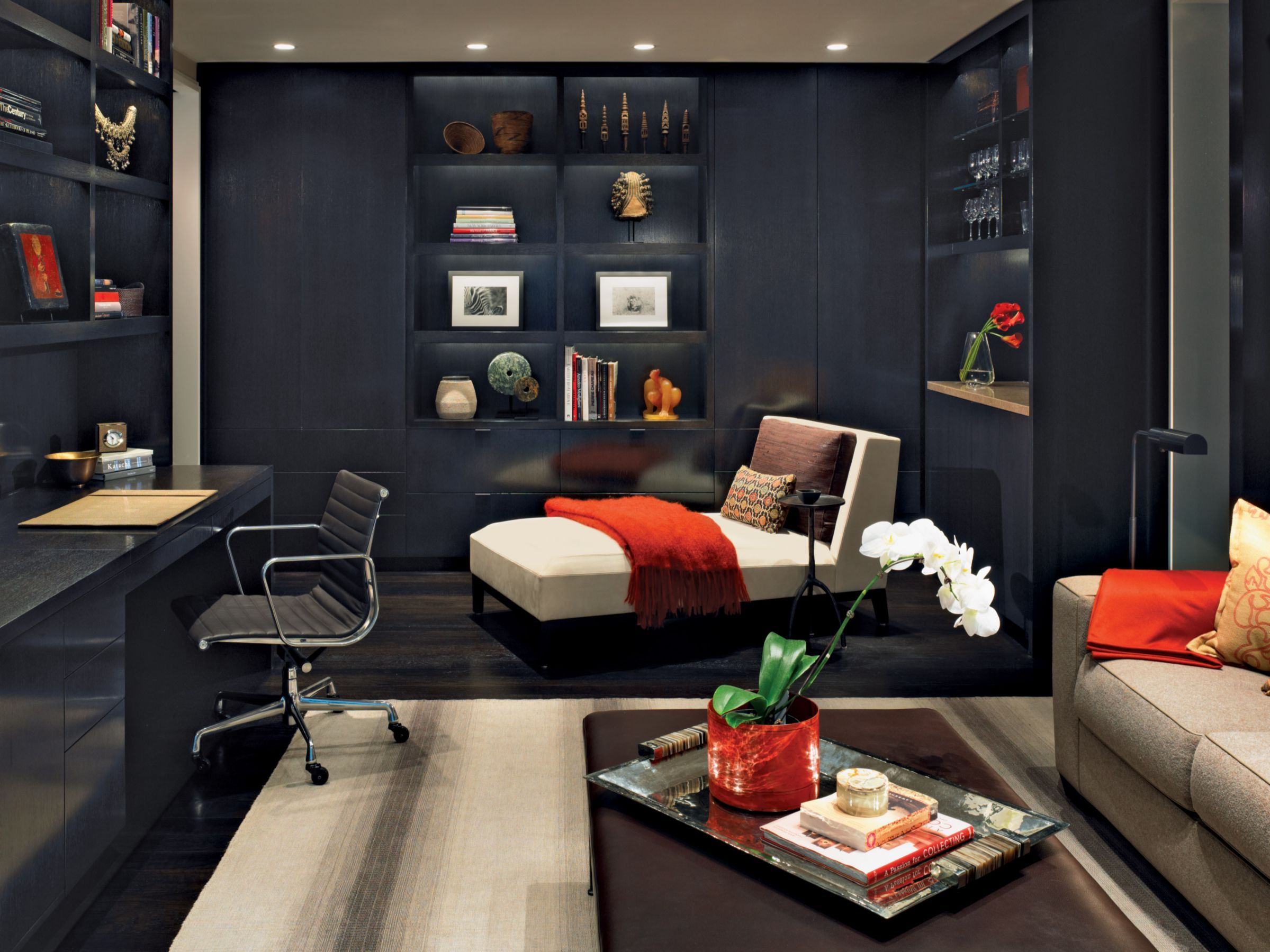 living room decorating ideas red and black%0A Room       Rooms That Prove Black