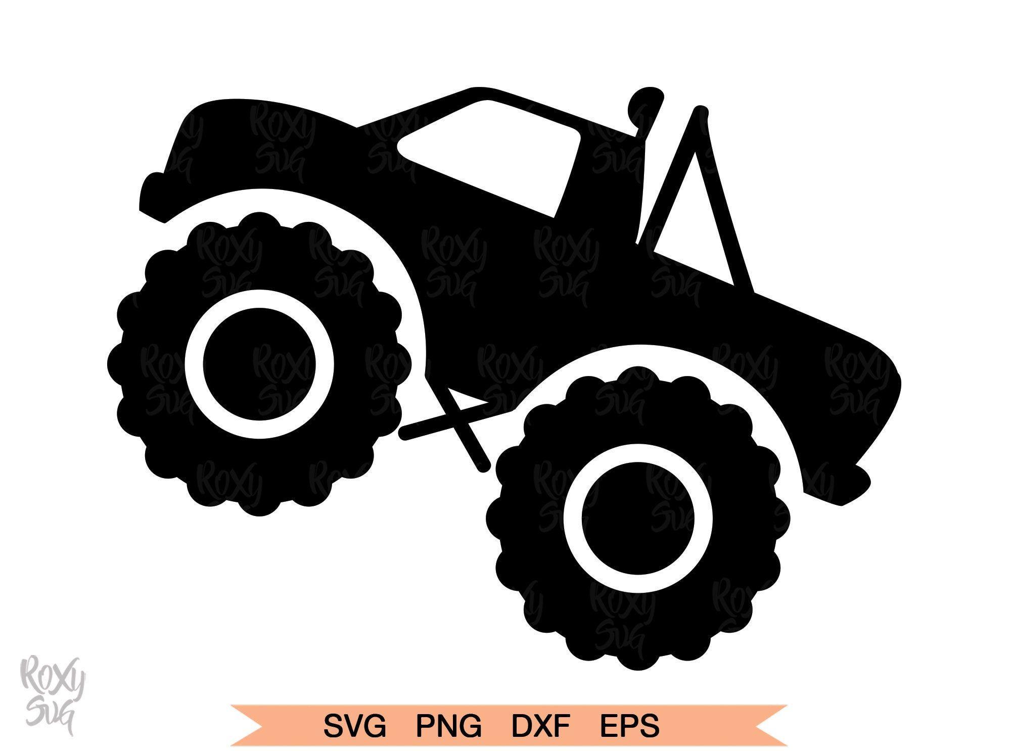 Truck Svg Monster Truck Svg Truck Clipart Monster Truck Svg Etsy Monster Trucks Trucks Cricut Projects Vinyl
