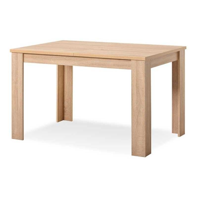 Mesa comedor buen precio 120 cm. roble extensible 153 cm ...
