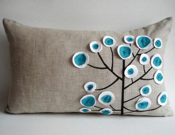 Cr ez votre housse de coussin originale pillows etc coussin original faire des coussins - Housses de coussins ...