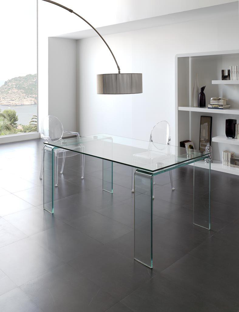 Mesas de cristal para Comedor-Salon LISITEA. Decoracion Beltran, tu ...