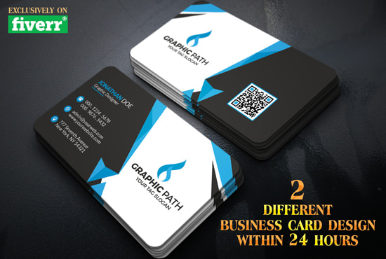Get Everything You Need Starting At 5 Fiverr Business Card Design Professional Business Card Design Card Design