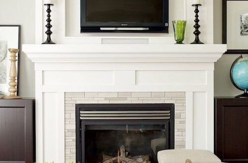 image result for gas fireplace with tv above new home diy rh pinterest com